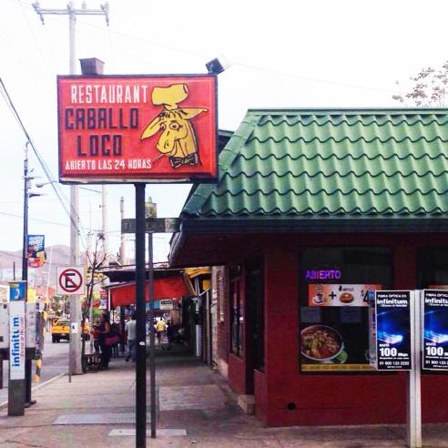 """Restaurante """"El Caballo Loco"""""""