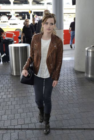 Look de aeropuerto: Emma Watson