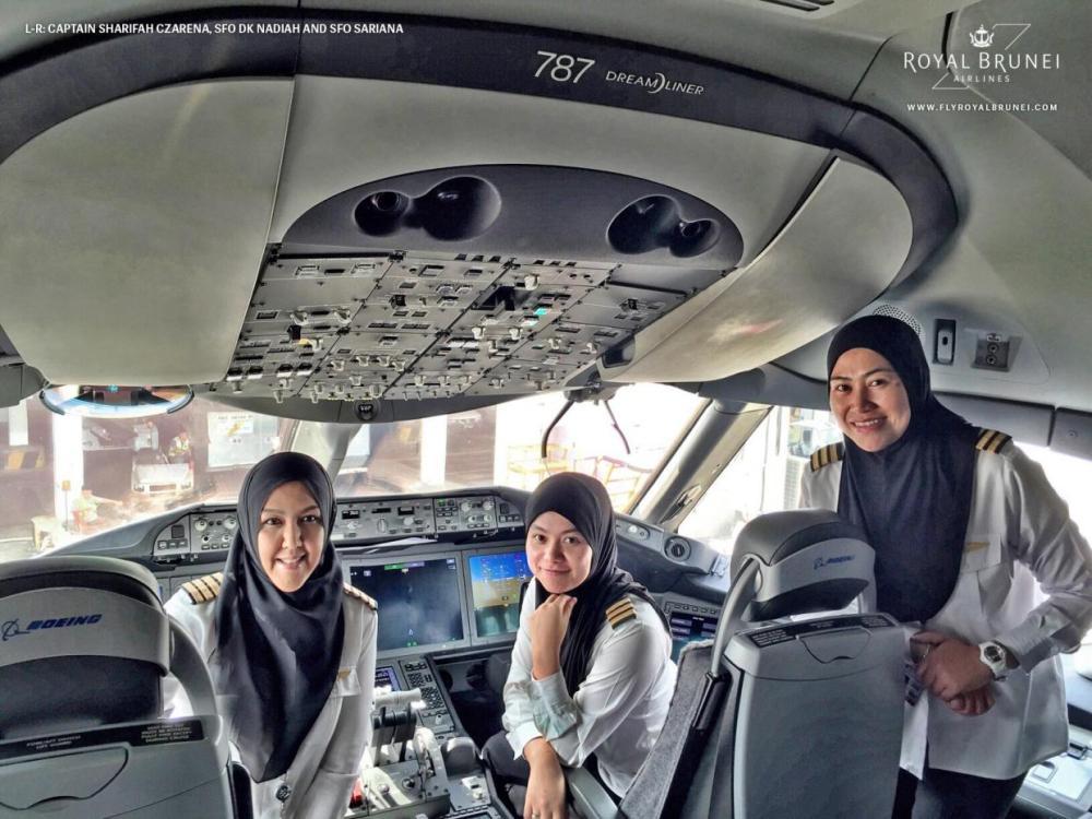 Female-Flight-Deck-royal-brunei