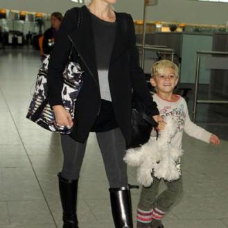 Look de aeropuerto: Gwen Stefani