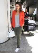 Look de aeropuerto: Jessica Alba