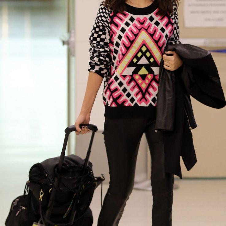 Look de aeropuerto: Victoria Justice
