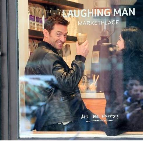 Laughing Man Coffee - Hugh Jackman