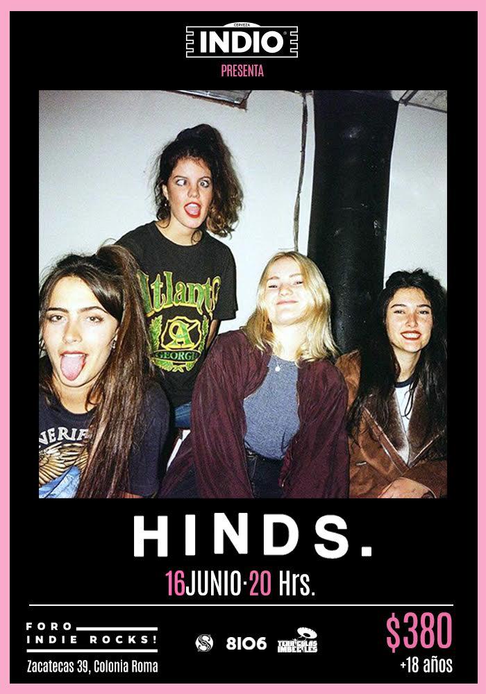 Hinds en el Foro Indie Rocks!
