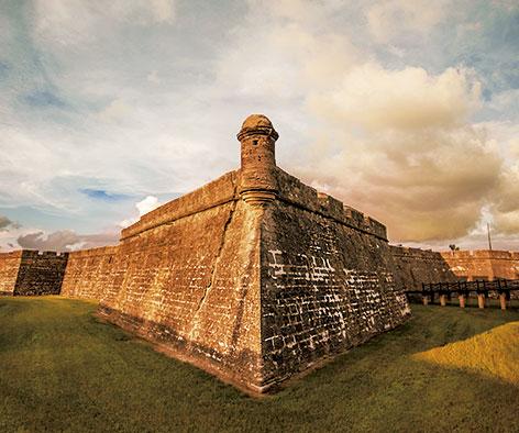 Castillo de San Marcos en St. Augustine