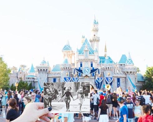 Castillo de Disney: Antes y ahora